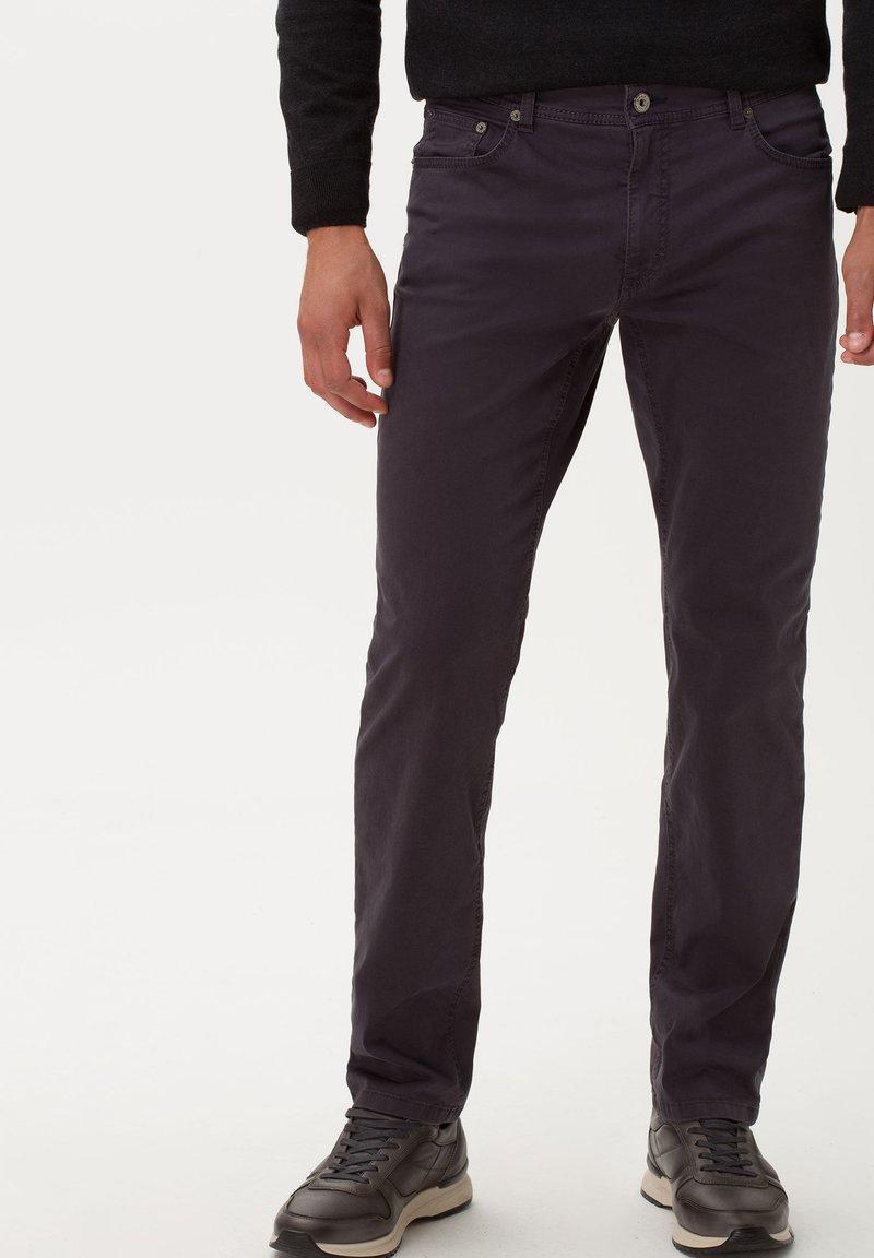 BRAX - STYLE COOPER FANCY - Straight leg jeans - anthra