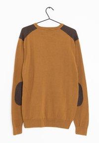 Next - Stickad tröja - brown - 1