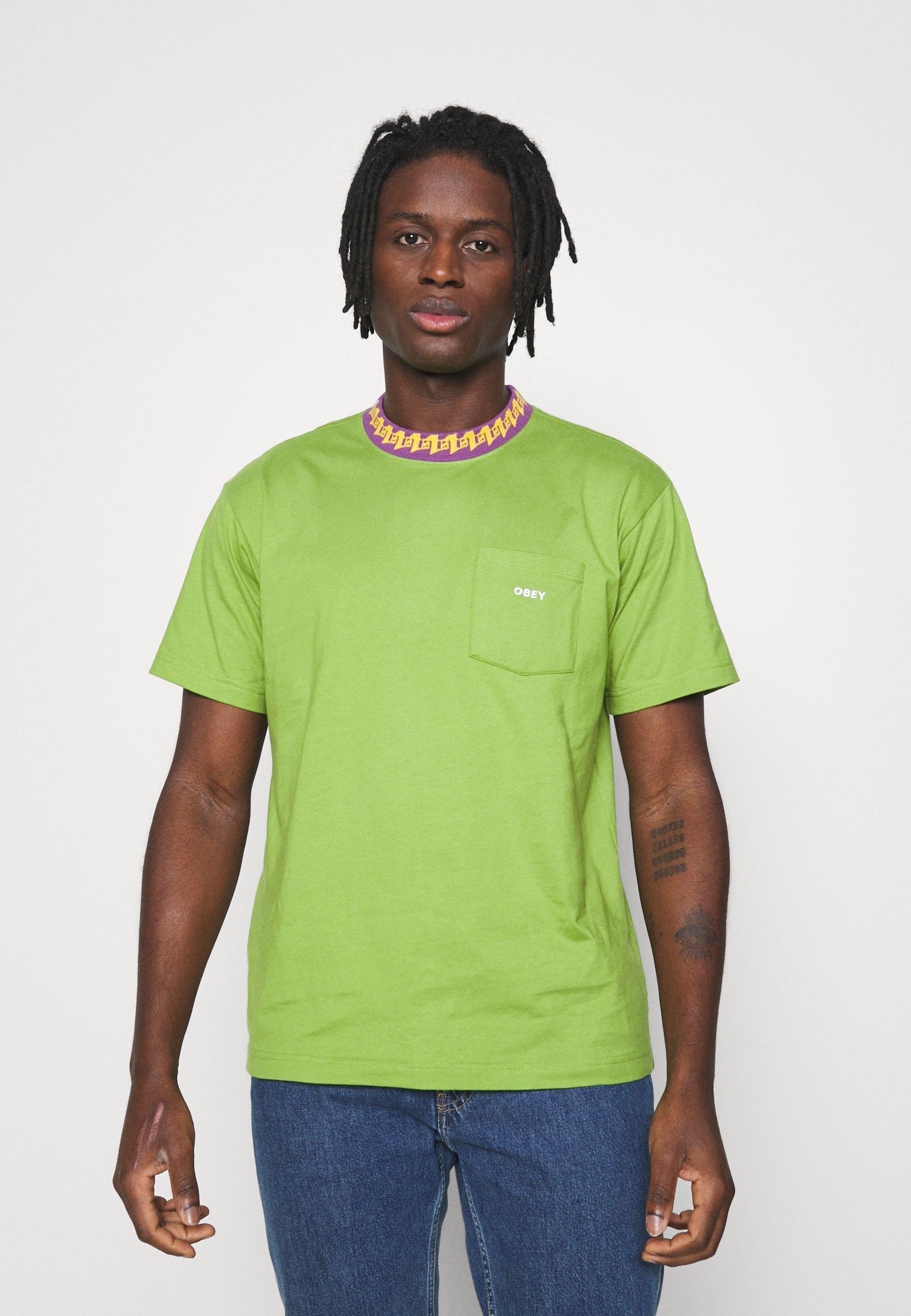 Men PLONA POCKET TEE - Print T-shirt