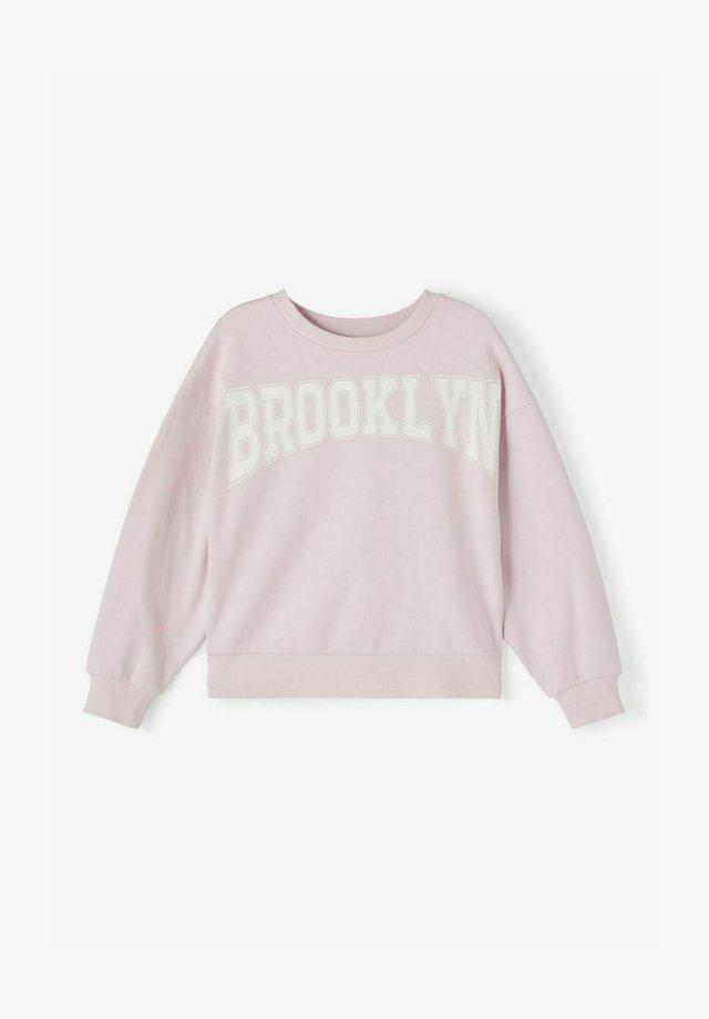 Sweatshirts - lilac snow