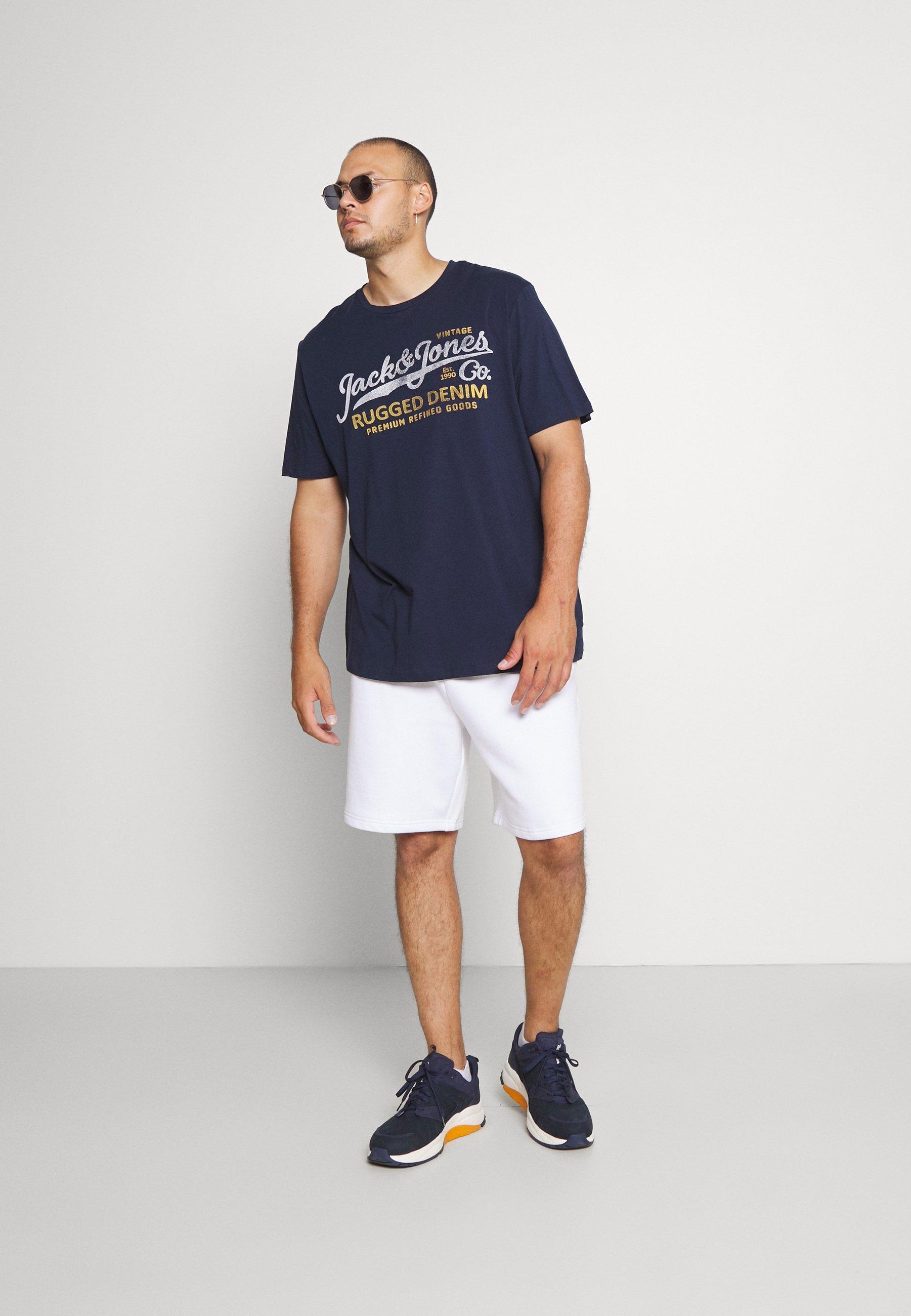 Men JPRBLUBOOSTER TEE - Print T-shirt