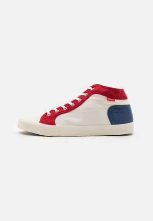 ARVEILER - High-top trainers - blanc/bleu/rouge