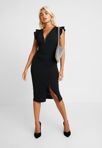 WAL G PETITE - Shift dress - black - 2