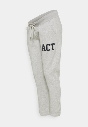 PCMLARA PANT - Tracksuit bottoms - light grey melange