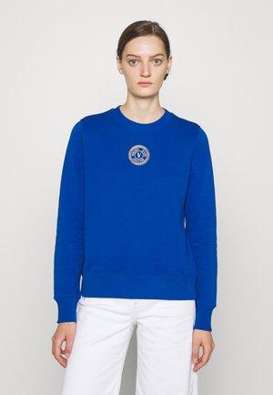 Sweatshirt - blue/gold
