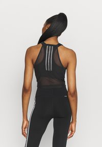 adidas Performance - TANK - Top - black/white - 2