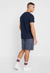 Hollister Co. - EXPLODED ICON CREW  - T-shirt basique - navy - 2