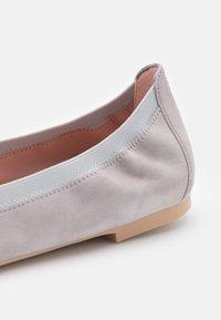 Pretty Ballerinas - AMI ANGELIS BETINA - Ballet pumps - plata/betina/fume - 6