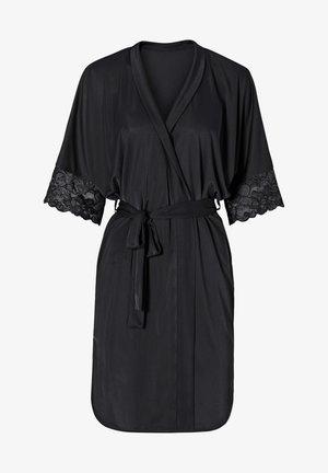 Peignoir - schwarz