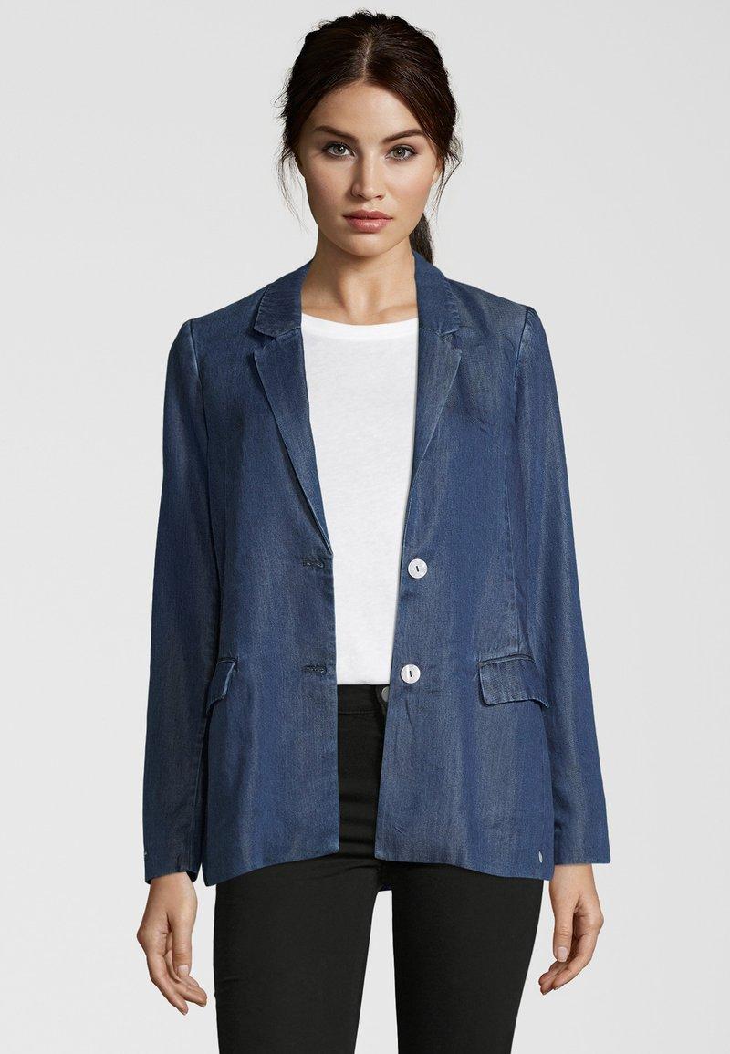 Scotch & Soda - IM DENIMLOOK - Blazer jacket - blau