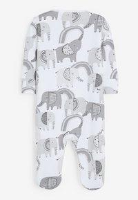 Next - 3 PACK - Pyjamas - grey - 4