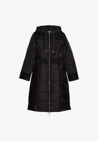 Liu Jo Jeans - LONG HOODED - Winter coat - black - 4