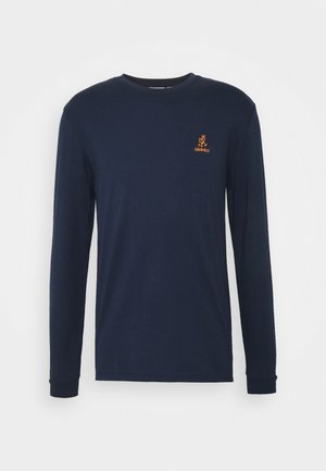 BIG RUNNINGMAN TEE - Long sleeved top - navy