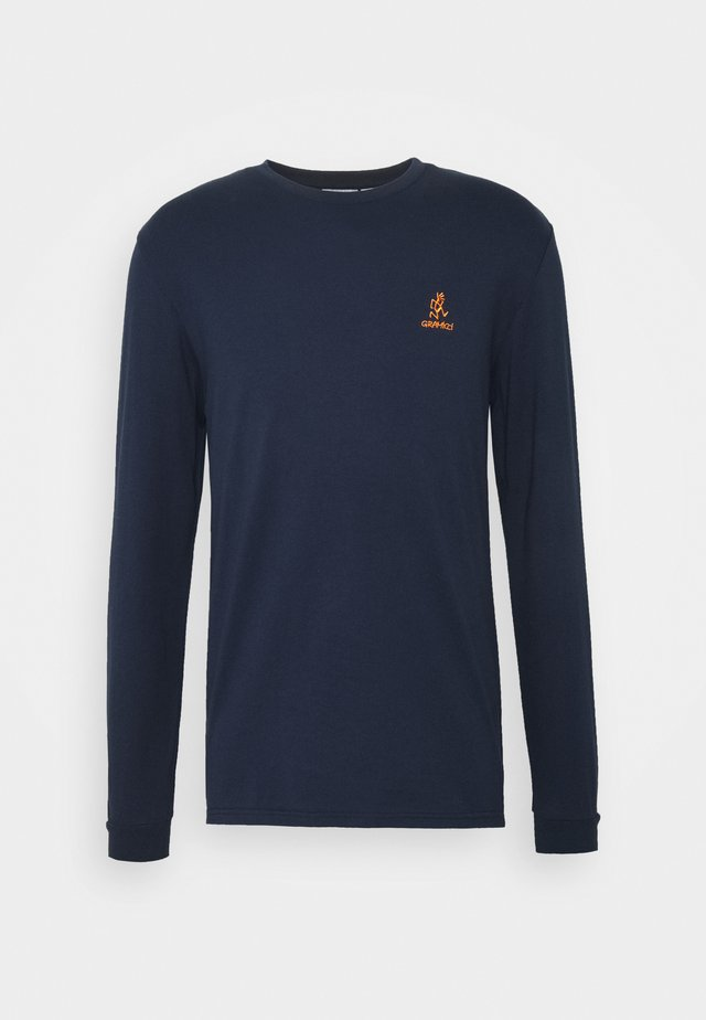 BIG RUNNINGMAN TEE - Topper langermet - navy