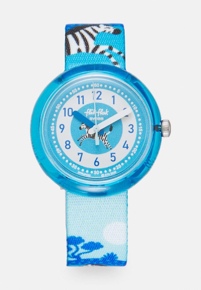 Flik Flak - ZEBRANNAH UNISEX - Hodinky - blue