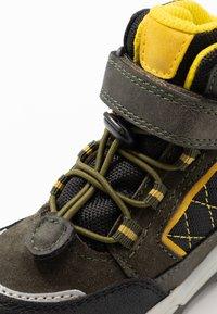 Lurchi - TALON - Winter boots - dark olive - 5