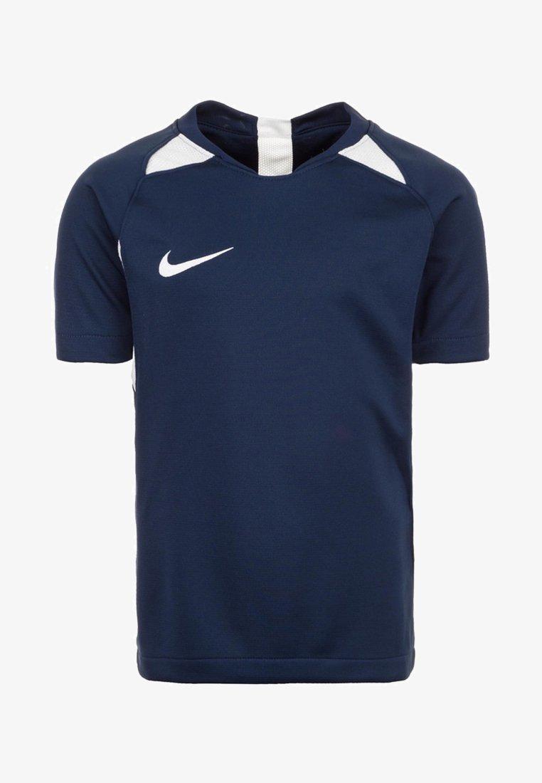 Nike Performance - STRIKER  - Print T-shirt - dark blue