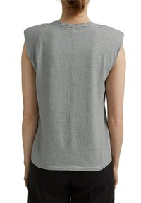 Esprit Collection - PADDED TEE - Basic T-shirt - off white - 5