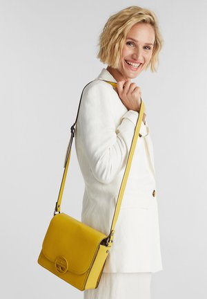 FRAN - Handbag - brass yellow