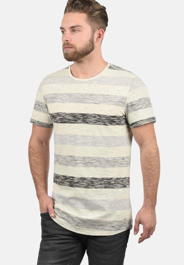 EFKIN - Print T-shirt - grey
