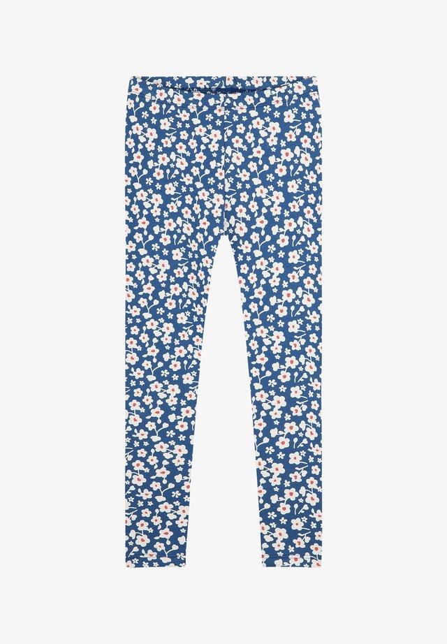 Legging - blau
