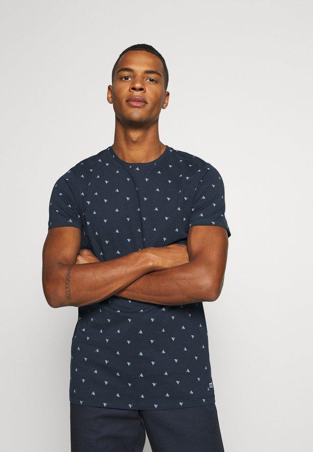 FYNN - T-shirt imprimé - navy