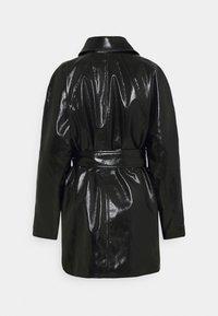 Weekday - JANIS SHORT JACKET - Short coat - black - 9