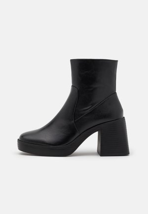 LEXUS - Bottines à plateau - black