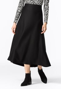HALLHUBER - Pleated skirt - schwarz - 0