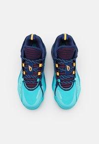 adidas Performance - DAME 7 EXTPLY BASKETBALL LILLARD LIGHTSTRIKE SHOES MID - Basketball shoes - blue - 3