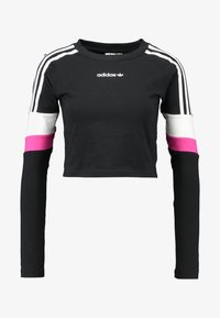 adidas Originals - CROPPED - Topper langermet - black - 4