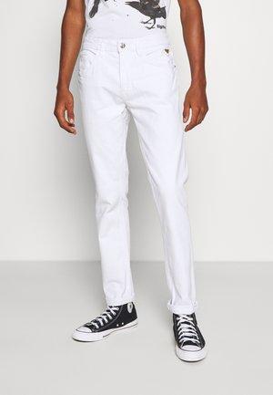 Jeansy Slim Fit - denim white