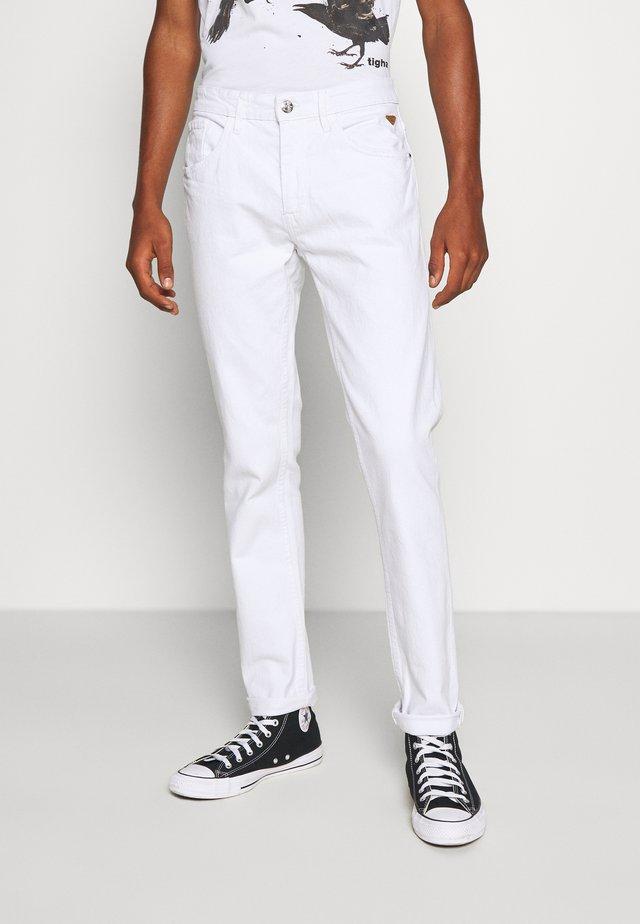 Jeans slim fit - denim white