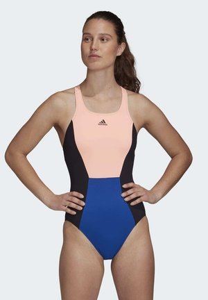 ADIDAS SH3.RO 4XENIA SWIMSUIT - Swimsuit - blue