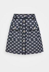 maje - JONALA - Mini skirt - nœuds marine - 4