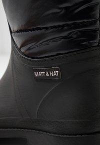 Matt & Nat - ROMINA VEGAN  - Wellies - black - 2