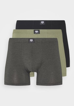 Z-LONGPANTS 3 PACK - Pants - green/dark