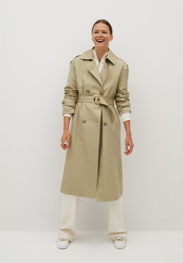 FEBRUARY - Trenchcoat - light/pastel grey