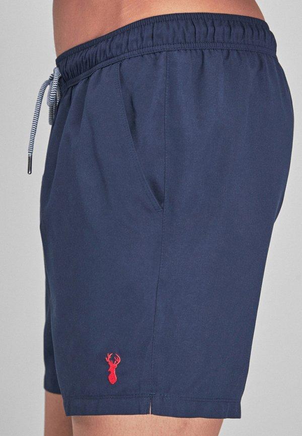 Next Szorty kąpielowe - dark blue/granatowy Odzież Męska NEJQ