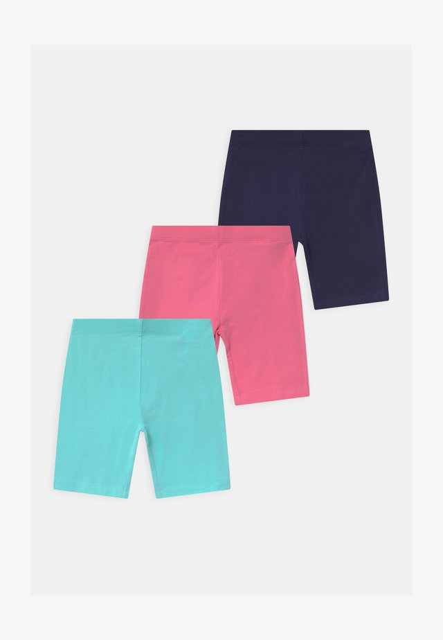 3 PACK - Shorts - dark blue/pink/blue