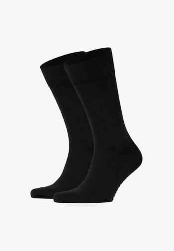 HAPPY 2-PACK - Socks - black