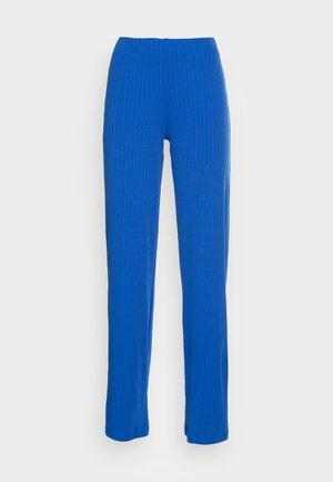 EDIT TROUSERS - Spodnie materiałowe - blue lolite