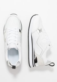 Tommy Hilfiger - FEMININE ACTIVE CITY  - Trainers - white/silver - 3