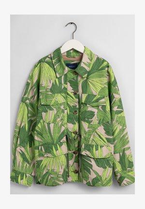 PALM BREEZE - Summer jacket - foliage green