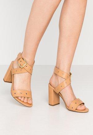 ADRIANNA - High heeled sandals - nude
