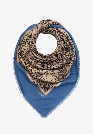 FOULARD GARZATO PENOMBRE MACULA COLO - Šátek - blue/beige