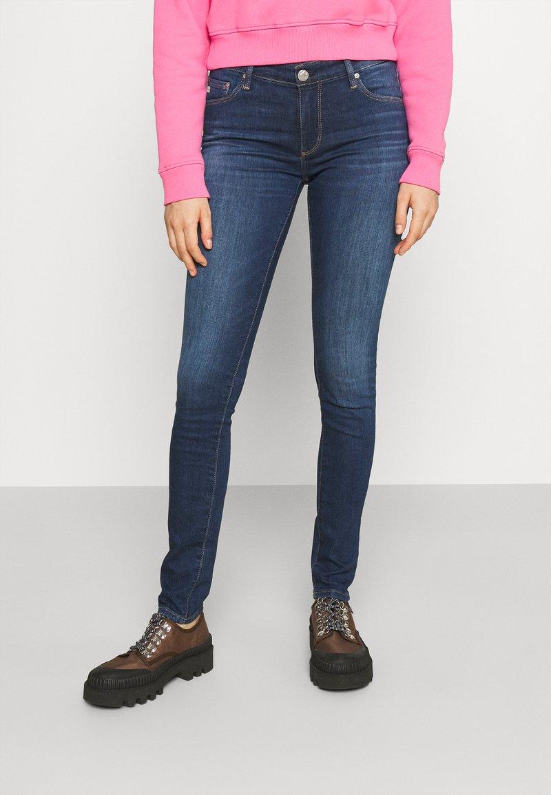 AG Jeans - Skinny-Farkut - dark blue
