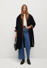 Mango - TRINI - Classic coat - schwarz - 1