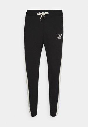 PREMIUM TAPE TRACK PANT - Pantaloni sportivi - jet black/offwhite