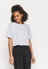 Cotton On Body - RELAXED ACTIVE - Print T-shirt - grey marle/balance - 0